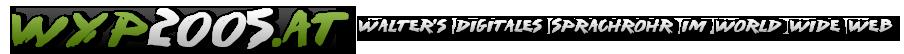 Walters digitales Sprachrohr im WWW
